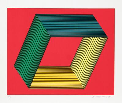 Richard Anuszkiewicz, 'Untitled - Red I', 1991