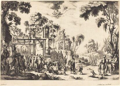 Nicolas Cochin, 'The Adoration of the Magi'