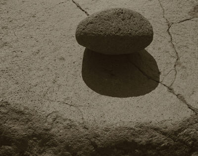 Koichiro Kurita, 'A Stone on a Rock, Nagano, Japan', 1988