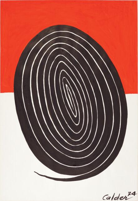 Alexander Calder, 'The Oval Spiral', 1974