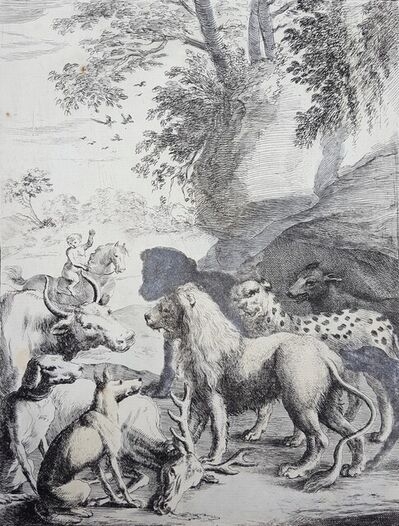 Dirk Stoop, 'The Lion as King of the Beasts', 1665
