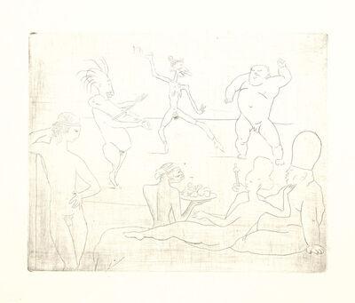 Pablo Picasso, 'La Danse, from La suite des Saltimbanques', 1905