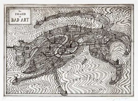 Grayson Perry, 'The Island of Bad Art', 2013