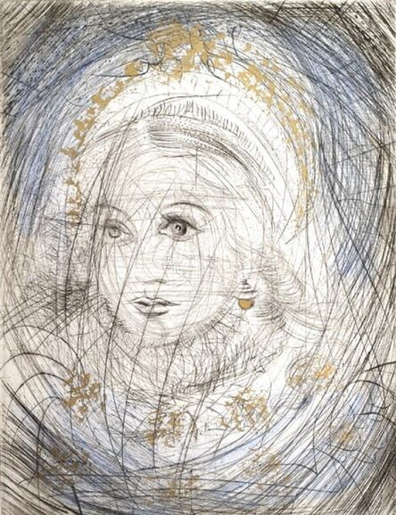 Salvador Dalí, 'Portrait of Marguerite', 1968
