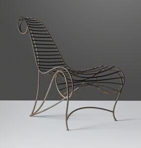 André Dubreuil, 'An early 'Spine' chair', circa 1986