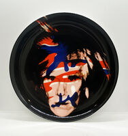 Andy Warhol, ''Camouflage Self Portrait' (plate)', 2020