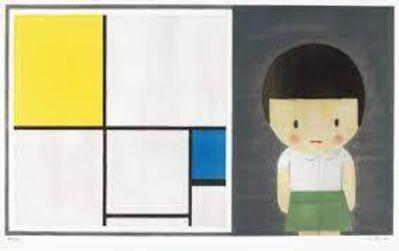 Liu Ye 刘野, 'Untitled I (Girl and Mondrian) (Signed and Framed)', 2011