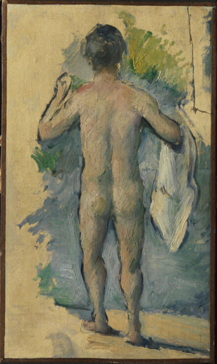 Paul Cézanne, 'Standing Bather Seen from Behind', ca. 1879-82