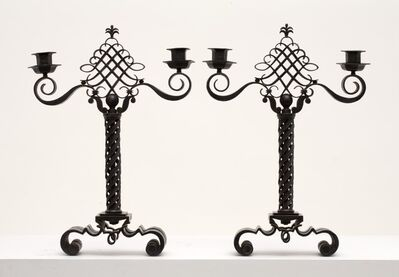 Raymond Subes, 'Pair of Candlesticks', ca. 1948