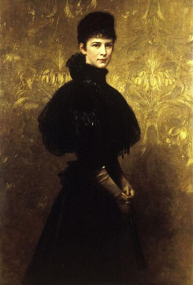 Gyula Benczúr, 'Portrait of Empress Elizabeth', 1899