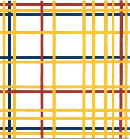 """Richard Pettibone, 'Piet Mondrian, """"New York City"""", 1941-42', 1996"""
