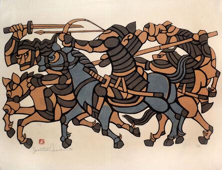 Yoshitoshi Mori, 'Warriors', 1982