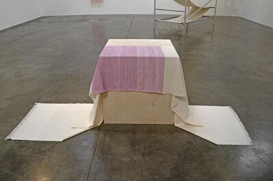Frances Trombly, 'Draped Wood Pedestal', 2016