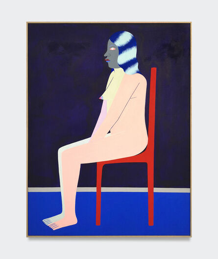 Richard Colman, 'Seated Figure (Red Chair)', 2017