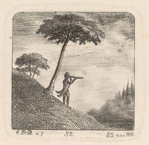 Emmanuel Phélippes-Beaulieu, 'The Tourist', 1858