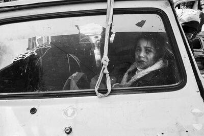 Anthony Dawton, 'Girl  through Car Window, Deir al Balah', 2011