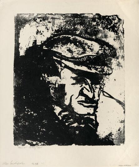 Karl Schmidt-Rottluff, 'Alter Sandhändler (Old Sand Merchant).', 1908