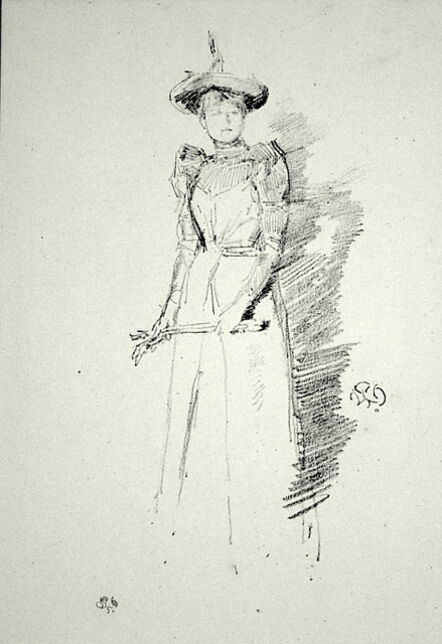 James Abbott McNeill Whistler, 'Gants de Suede', 1890