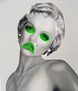 Teiji Hayama, 'Green Marilyn', 2019