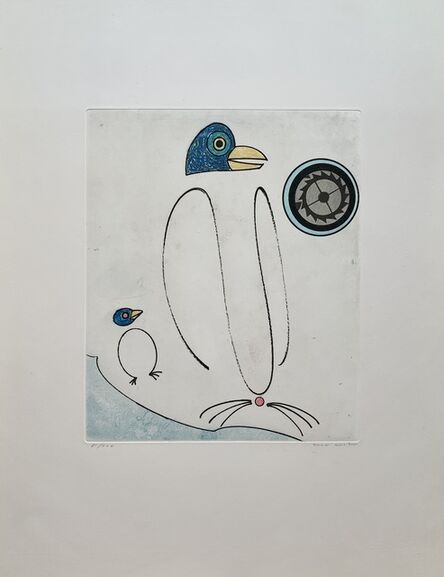Max Ernst, 'La carte du monde tourne en dérision', 1975