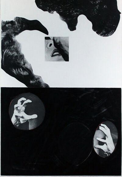 John Baldessari, 'Kiss, Hair, Hands', 1986