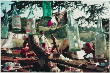 Bertien van Manen, 'Camping at Lake Baikal, Siberia', 1993