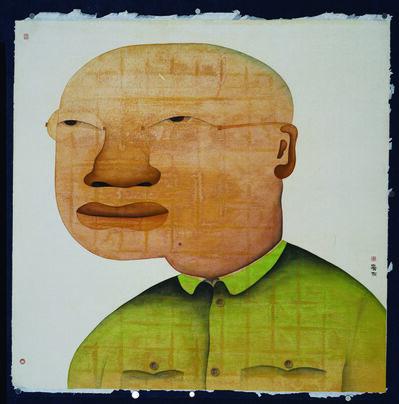 Zhu Wei 朱伟, '人物研究之一; Study of People, No. 1', 2012