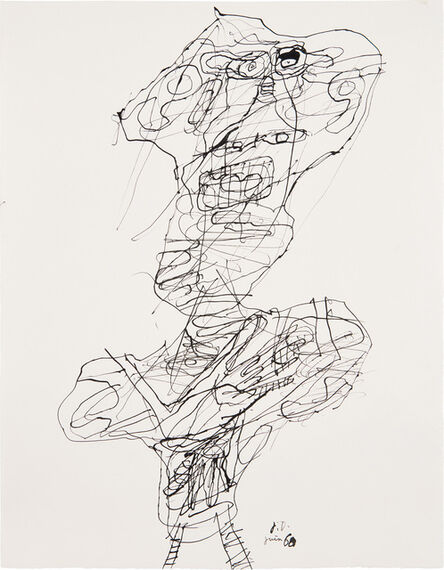 Jean Dubuffet, 'Personnage (no. 25)', 22068