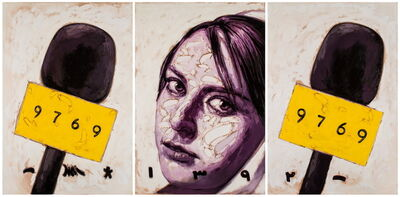 Babak Roshaninejad, 'Left Face 1 from the Personae series', 2013