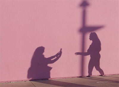 Carl Shubs, 'Shadow Photo Session', 2020