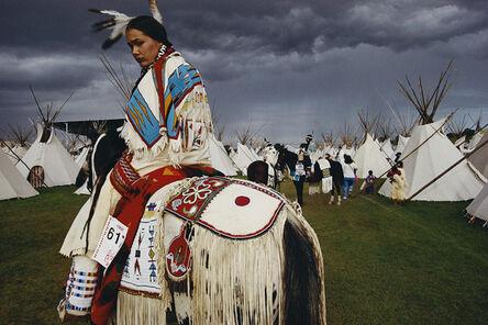 William Albert Allard, 'Acosia Red Elk, Indian beauty queen, Pendleton, Oregon', 1998