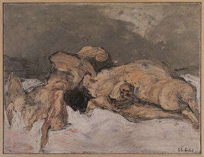 Roger Edgar Gillet, 'Le Couple au divan', 1969
