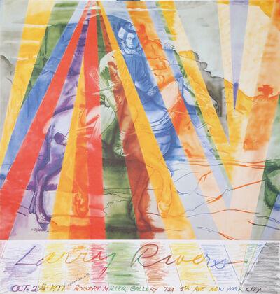 Larry Rivers, 'Robert Miller Gallery Poster', 1977