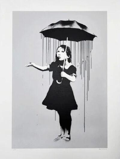 Banksy, 'Nola (Grey Rain)', 2008