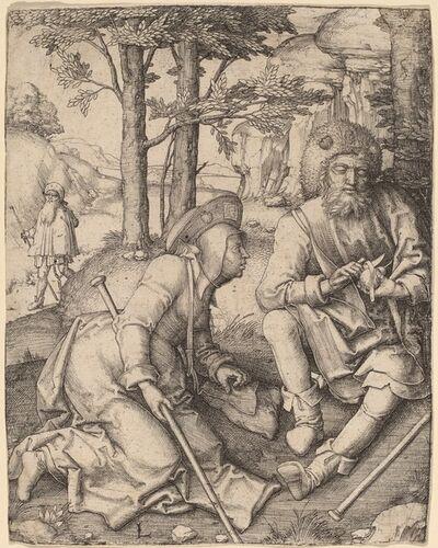 Lucas van Leyden, 'The Pilgrims', in or before 1508