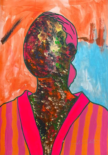 Ajarb Bernard Ategwa, 'I know am beautiful', 2021