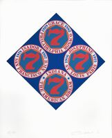 Robert Indiana, 'American Dream - Isodora Grace & Josephine', 1998