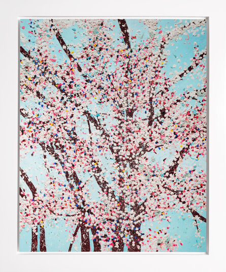 Damien Hirst, 'The Virtues 'Mercy', Limited Edition 'Cherry Blossom' Landscape', 2021