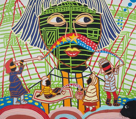 Boris Nzebo, 'Au Pays des merveilles', 2017