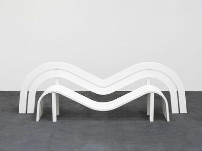 Jeppe Hein, 'Modified Social Bench 17', 2011