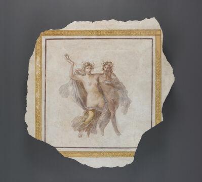 'Fresco Panel Depicting Dionysos and Ariadne',  1st century