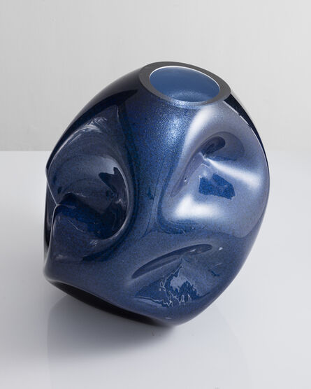 Jeff Zimmerman, 'Crumpled sculptural vessel', 2018