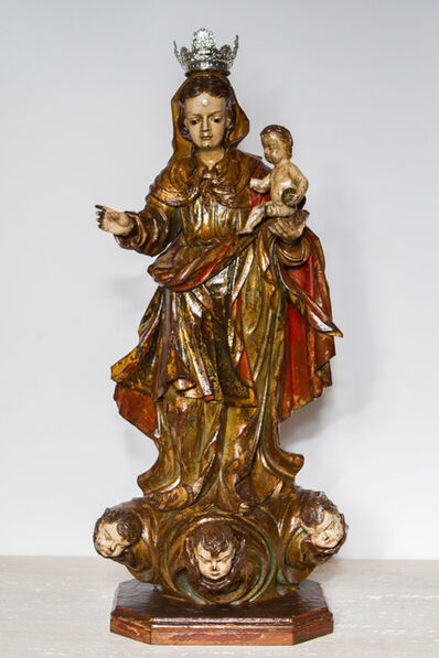 Mestre Barão de Cocais, 'Nossa Senhora do Rosário', ca. 1750