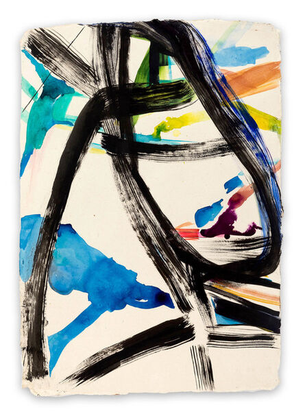 Laura Newman, 'Calligraph (Abstract Expressionism painting)', 2017