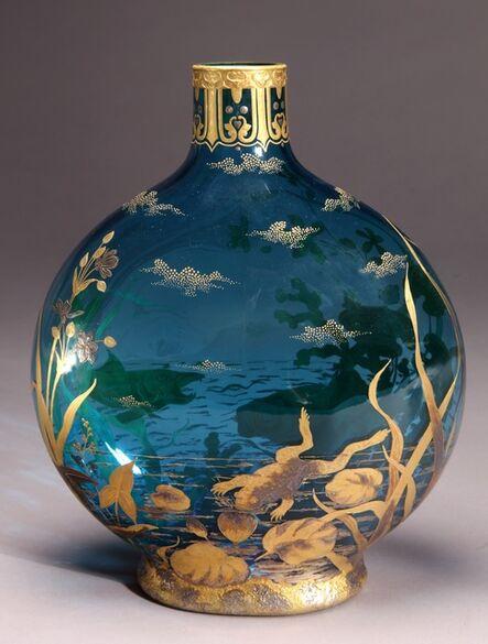 Thomas Webb & Sons, 'Moon Flask', ca. 1890