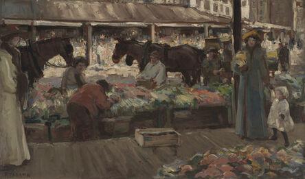 Fokko Tadama, 'Public Market, Seattle', 1910