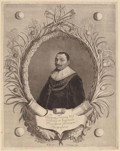Jonas Suyderhoff after Hendrik Gerritsz Pot, 'Martin van Tromp'