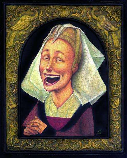 Anita Kunz, 'The Happy Nun'
