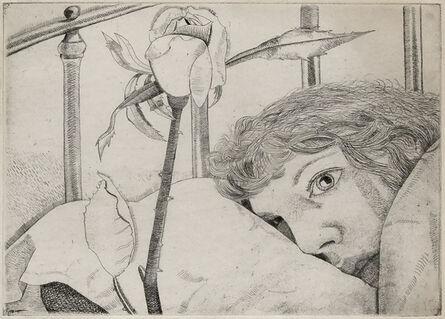 Lucian Freud, 'Ill in Paris', 1948