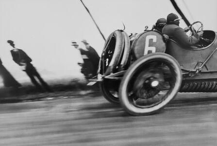 Jacques Henri Lartigue, 'Grand Prix of the A.C.F.-a Delage', 1912